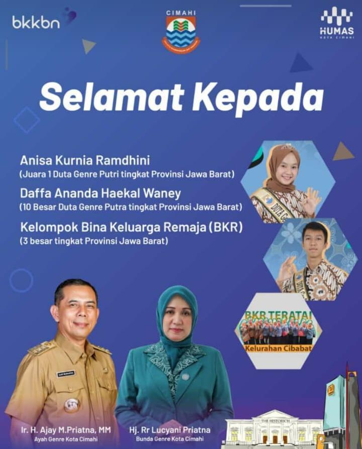 Peraih Duta Genre Jawa Barat