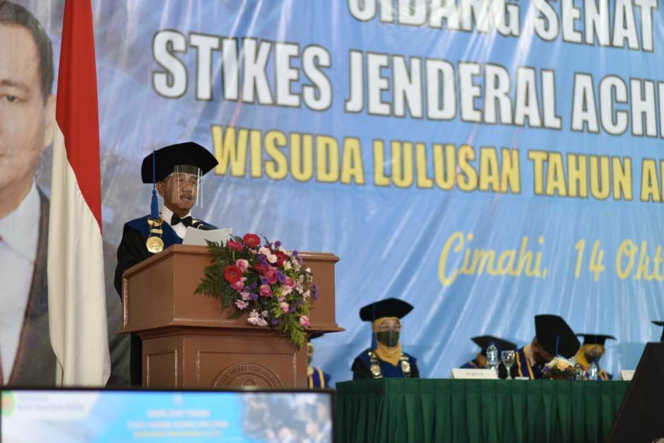 Wisuda Daring Stikes Jenderal Achmad Yani Cimahi T.A 2019/2020