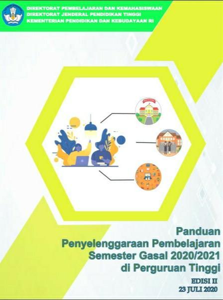 Panduan Penyelenggaraan Pembelajaran Semester Gasal 2020-2021 di PT_Edisi-II