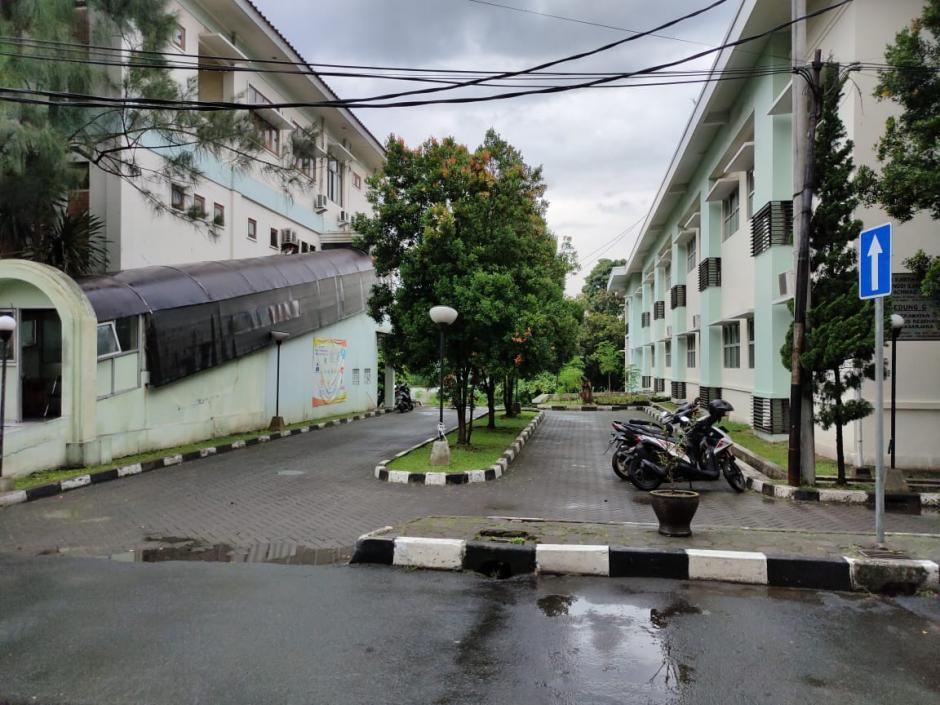 Lahan Parkir Kendaraan Roda Dua