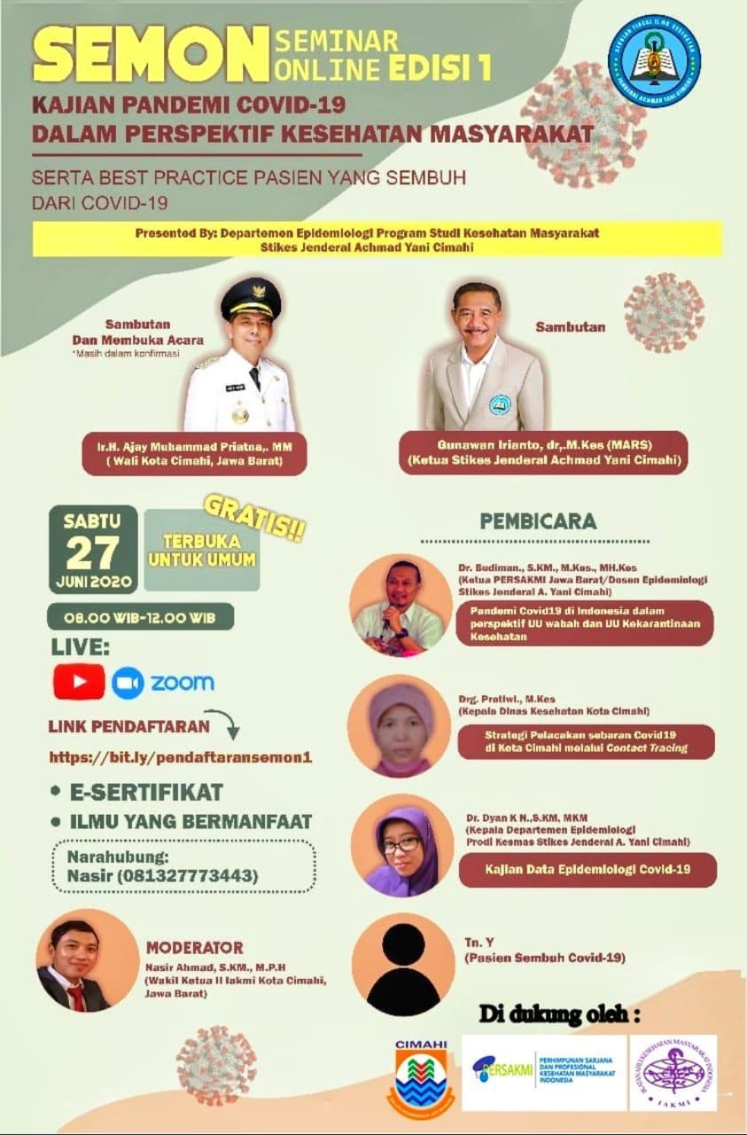Seminar Online Edisi 1